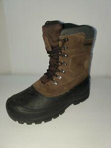 Field & Stream Men's Pac 400g Winter Boots-Size 9-Brown