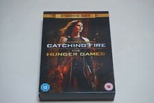 The Hunger Games Catching Fire and The Hunger Games ~ DVD ~ 2 Movie Set