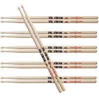 Vic Firth American Classic 7A Drumsticks 6 Pair Pack UPC 750795000227