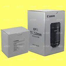 Genuine Canon EF-S 55-250mm f/4-5.6 IS STM Image Stabilizer Lens + ET-63 Hood