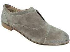 Steve Madden Women's Catt Slip-On Oxfords Taupe Suede Size 8 M