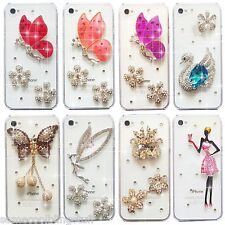 NEW 3D BLING DELUX DIAMANTE HANDBAG SPARKLE CASE COVER 4 SAMSUNG iPHONE SONY HTC