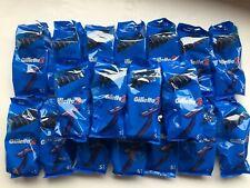 Gillette 2 Blue Twin Blade Razor Disposable Razors
