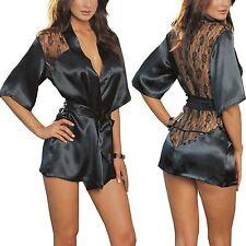 Women Sexy/Sissy Lingerie Babydoll G-String Lace Dress Thong Nightwear Underwear