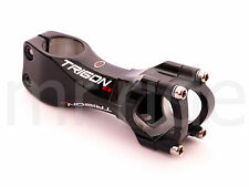 mr-ride TRIGON EX90 Carbon + Alloy Road MTB Stem, 90mm, 31.8mm, 156g, 6° Black