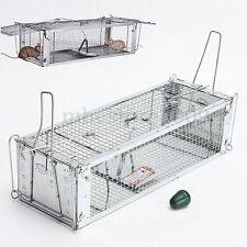 Métal Piège Souris Rongeurs Cage Nuisibles Piège Cage Mouse 54cm NF Nasse à Rats