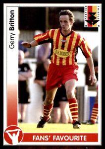 Panini SPL 2004 - Gerry Britton Partick Thistle No. 343