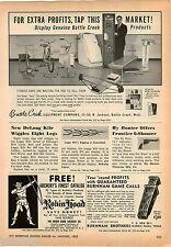 1963 ADVERT Burnham Brothers Bros Fox Game Call Husqvarna Rifle