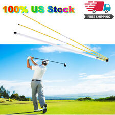 Golf Alignment Sticks Training Aid Practice Rods Swing Trainer Aids 48 inch
