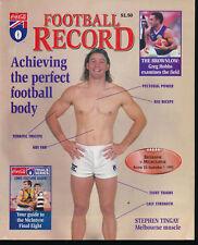 1995 AFL Football Record Brisbane Bears v Melbourne Demons Sep 1 unmarked