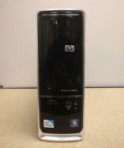 Hp Pavilion Slimline Dual-core E5300 PC Desktop Windows 10 PRO 4GB RAM 600GB HDD
