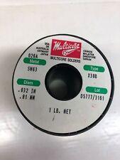 Multicore Solders Type X38b 1lb 8g3 003
