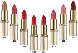 L 'Oréal Paris riche colour lipstick (31 Shades)