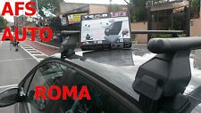 BARRE PORTATUTTO MENABO PER PEUGEOT 208 5 PORTE ANNO 2012 OMOLOGATO MADE I ITALY