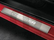 15-18 Dodge Charger Stainless Steel Illuminated Door Sill Guards Factory Mopar