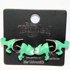 Her Universe Destination Disney Tangled Green Pascal Faux Tunnel Earrings 1 Pair