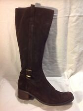 American Eagle Brown Knee High Suede Boots Size 41