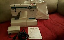 White Sewing Machine Heavy Duty Model 1919 Embroidery Dressmaking 19 Stitch MORE