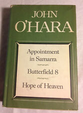 Appointment in Samarra & 2 Other Novels by John O'Hara (Very Good Hardcover)