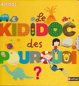 Livre enfant Le KIDIDOC des POURQUOI