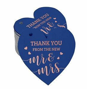 Thank You From The New Wedding Paper Tags Craft Foil Hang Tags-SH4_15BG