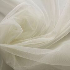 Cream Buttermilk Soft Tulle Bridal Dress Fabric 150cm wide - by the metre