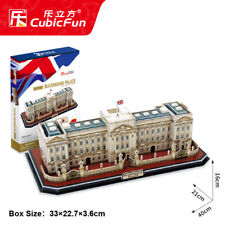 CubicFun 3D Puzzle MC162h Buckingham Palace,DIY Building Jigsaws,72 Pieces