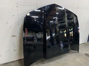 2010-2011 Chevrolet Camaro SS Hood Black OEM *note needs repair