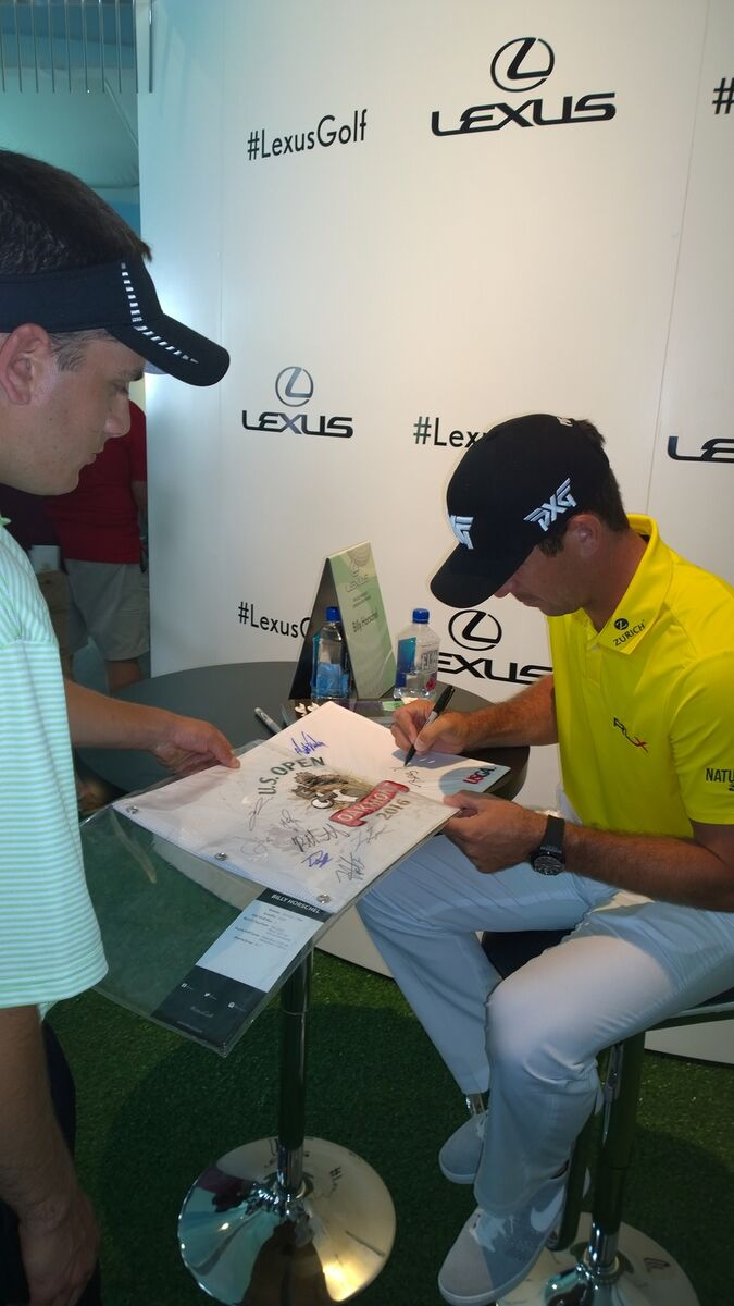 PGA Autographs Tees Bears and more