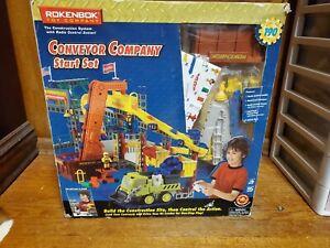 Rokenbok Conveyor Company Starter Set 04121 With Manual building toys VTG