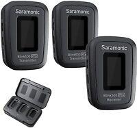 Saramonic Blink 500 Pro B2 Digital Wireless Omni Lavalier Microphone System 2.4G