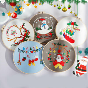 Christmas Fashionable Handicraft Supplies Nordic Style Embroidery Accessories