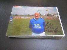 53664 Peter Ducke FC Carl Zeiss DFV DDR SUPERIORE LEGA ORIGINALE FIRMATO autografo foto