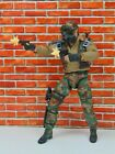 Custom 1:12 Scale Weapons Muzzle Flash Gun Blast Effect for Pistols Handguns 4x