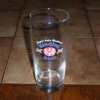 altes Bierglas Brauerei Binding 0,25 l