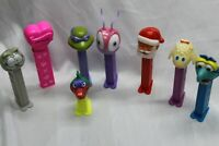 Lot of 8 Feet Vintage Pez Nice all in fair to good condition Free shipping