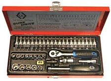 "C.K Sure Drive 39 Piece Socket Set 1/4"" Drive T4655"