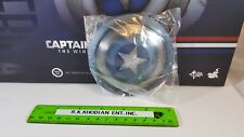 Hot Toys MMS243 Captain America action figure's 1/6 clean version metal Shield