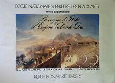 Affiche Eugene Viollet-le-Duc