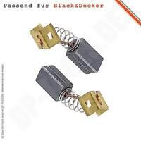 Kohlebürsten Motorkohlen für BLACK&DECKER KG 915 6,3x8mm 596071-00