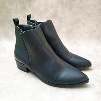 Boohoo Womens   Sz 6 M Black  Ankle Boots Booties