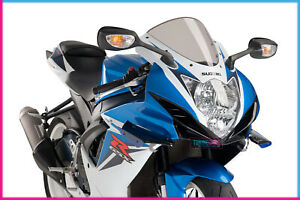 PUIG SIDE SPOILER DOWNFORCE FOR SUZUKI GSX-R750 11-16 BLUE