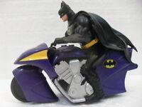 DC Comics Inc 1994 - BATMAN in moto - misura 11 x 15 cm. 4 articolazioni