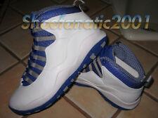 Nike Air Jordan Retro X 10 TXT 3LAB5 White Royal Don C SB Supreme 7.5 Vault