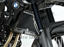 BMW F800ST & F800S all years R&G RACING black radiator guard cover protector