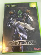 XBOX Original Game - Gun Metal -  with Case.