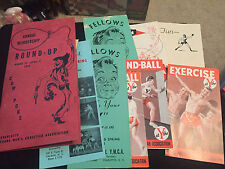 ANNUAL MEMBERSHIP ROUND UP YMCA 1955 ADS PAMPHLET BOOKLET LOT COW POKE