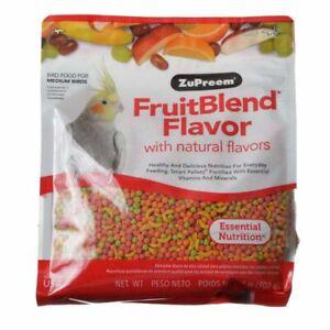 LM ZuPreem FruitBlend Flavor Bird Food for Medium Bir2 lbs