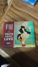 Truth About Love by Pink slipcase parental advisory CD good used condition
