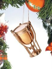 "ODMT 2.5"" Timpani Drum Christmas Ornament Instrument Music Band Rock Percussion"